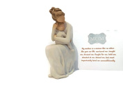 Willow Tree For Always Figurine. Best Easter, Birthday, Special Occasion Gifts for Mothers/Daughters