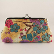 Retro Vintage Purse, Women Lady Flower Small Wallet Hasp Purse Clutch Bag Pouch Wallet Money Bag