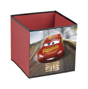 Disney Cars 3 Lightning McQueen Cube Container Folding 31x31x31cm red