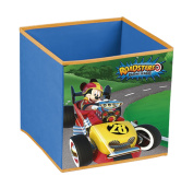 Disney Mickey Roadster Racers Cube Container Folding 31x31x31cm blue