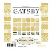 Ultimate Crafts Gatsby Pad, Paper, Multicoloured, 15cm x 15cm