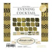 Ultimate Crafts Evening Cocktail Pad, Paper, Multicoloured, 15cm x 15cm