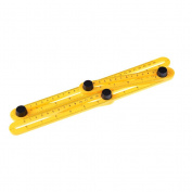 JETTINGBUY Multifunctional Angle Model Angle Ruler Plastic Measuring Tool for Handymen, Builders, Craftsmen