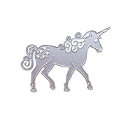 Unicorn Horse Metal Cutting Dies Stencil Scrapbooking Card Paper Embossing Craft