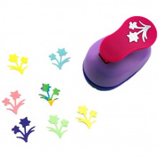 CADY 2.5cm paper punch Scrapbooking Punches Easy to Use,Kid Cut DIY Handmade Paper Hole Punches for Scrapbook