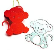 LUFA 1pc Cute Monkey Cutting Dies Scrapbook DIY Delicate Cards Photo Album Die Cutter
