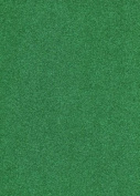 KRAFTZ® - Pack Of 10 Green A4 Size Eva Self Adhesive Foam Glitter Sheets for Crafts, Home, Office, Party Decorations, DIY Crafts