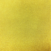 KRAFTZ® - Pack Of 10 Golden A4 Size Eva Without Adhesive Foam Glitter Sheets for Crafts, Home, Office, Party Decorations, DIY Crafts