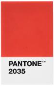 Pantone 108002035 Red Plastic Holder 2035 °C 6 x 9.50 x 1.1 cm