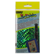 A5 UHU Holographic Metallic Transfer Foil Paper - Green
