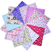 144 Sheets Craft Folding Origami Paper Washi Folding Paper 15cm by 15cm , 12 Different Colours and Patterns