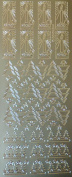 Christmas Trees and Candles Peel Off stickers - XL207U-02