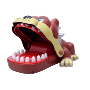 Amazemarket 18cm Kids Electronic Joke Don't Wake The Dog Biting Funny Game Toys Attack Catch Me Games Parent Child Party Develop Patience Coordination Practical Skill