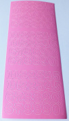 15mm Pink Peel Off Numbers XL404U-20 by craft Creations
