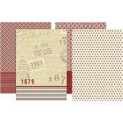 Decoupage Paper, sheet 25x35 cm, 17 g, Copenhagen, 80asstd sheets