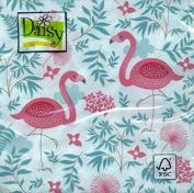 4 x Paper Napkins - Flamingos - Ideal for Decoupage / Napkin Art