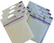 Dovecraft 3D Foam Squares Bundle, 3 X packs 5x5mm, 3 X packs 10x10mm, double sided adhesive, sticky pads for cardmaking and decoupage