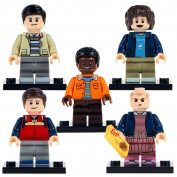 Britoys Stranger Things Dustin Eleven Lucas Mike Minifigure Custom Building Block Toy