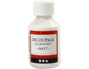 100ml Matt Decoupage & Decopatch Glue for Napkins & Paper | Craft Adhesives