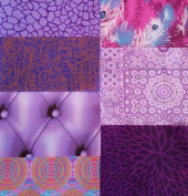 Decopatch Mixed Paper Packs For Decoupage and other craft projects - PURPLE