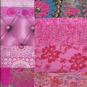 Decopatch Mixed Paper Packs For Decoupage and other craft projects – PINK