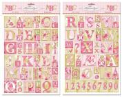 Tilda Kitchengarden Letters Decoupage Papers