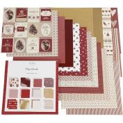 Design Paper block, size 30,5x305cm, 50 pages, Copenhagen, 50sheets