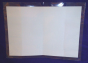 Pack of 1000 - 5 X 7 - JACKET / WRAP AROUND Cellophane Greeting Card Display Bags / Sleeves