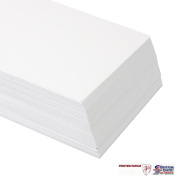 100 Sheets A2 250gsm White Card - Premium Thick Printing Paper suitable for All Printers