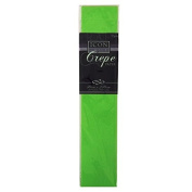 Icon Craft, Large Crepe Paper - Lime Green - 50cm x 250cm