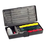 Knife Sharpener Professional Kitchen Sharpening System W/ 5 Stone Version