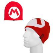 Licensed Nintendo MARIO M Logo Beanie OSFA
