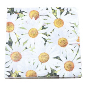 Laat Romantic Daisy Pattern Vintage Paper Pack for Scrapbooking and Craft