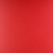Carta Bella Paper Classic Red Linen Cardstock 36kg. Cover, 30cm x 30cm