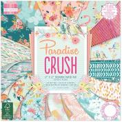 Premium Craft Cardstock First Edition Paradise 30cm x 30cm Scrapbook Papers