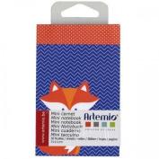 Artemio Collection Grafictime Mini Notebook, Multi-Colour