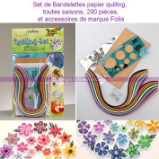 Set of paper Quilling Strips, All Seasons, 290, Parts and Accessories