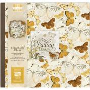 First Edition Falling Leaves Scrapbook Album 30cm x 30cm