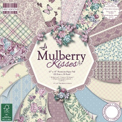 First Edition Mulberry Kisses Premium Paper Pad 30cm x 30cm 48 Sheets