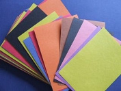 A5 Coloured Construction or Sugar Paper - 100 sheets | Papercraft Paper Packs