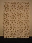 25 Sheets Printed Watercolour Paper - Gold Star AM543