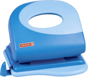 Brunnen Colour Code 102062733 Punch Removable Paper Guide, For Punching Up To 20 Sheets – Blue/Azure