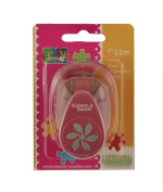 Vaessen Creative Craft Paper Punch Flower Motive Puncher, Multi-Colour, 25.1 x 22.1 mm