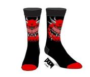 DOOM Cacodemon Socks (OSFA) Large Adult - Fully Licensed