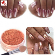 Esharing Women Girls Fashion Sexy Nail Mirror Powder Glitter Chrome Powder Beauty Art Decoration