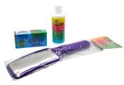 Mr. Pumice Complete Pedicure Kit (Callus Removal Gel + Pumice Bar + Metal Foot File)
