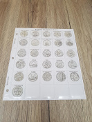 Coin Album Pages for 10p Alphabet Coin Collections