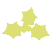 """Details about Large Craft Punch 3"""" (7.5cm HOLLY LEAF 2) Card Making Embelishments Tag"""