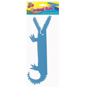 Kids Children Crocodile Shaped Plastic Ruler Measuring Tool 20cm Party Bag Gift