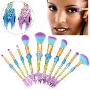Makeup Brushes Sets , Aritone 6 Pcs | Pro Make up Brushes Sets | Eye shadow | Blush | Powder | Brush Tool with Fishtail Shape Handle